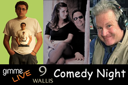 Comedy Night feat. World Gone Crazy Comedy Band, Chris D and Mugs McGonagle