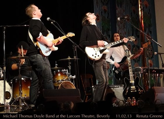 Michael Thomas Doyle Band @ Larcom Theatre, Beverly, MA - 11/2/13
