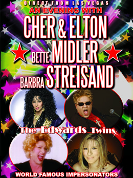 An Evening with Cher, Elton John, Bette Midler and Streisand