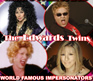 AN EVENING WITH CHER, ELTON JOHN, BETTE MIDLER and STREISAND STARRING LAS VEGAS THE EDWARDS TWINS