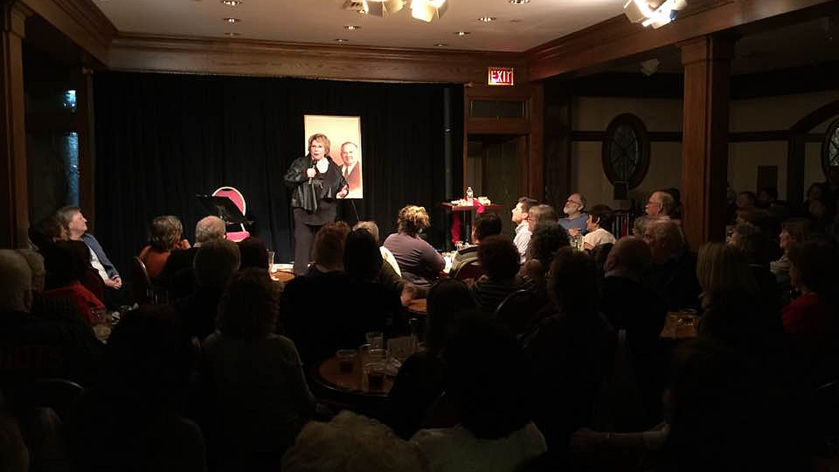 Loretta LaRoche - Dinner and Comedy at 9 Wallis
