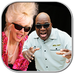 CHRISTINE OHLMAN and Rebel Montez with BARRENCE WHITFIELD Soul on Soul