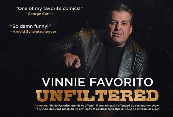 a076e9634e31c0 Vinnie Favorito Unfiltered on Apr 21